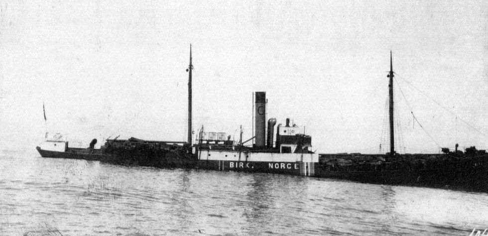 Shipping history: The Birk was acclaimed far beyond shipping circles after a rescue operation in 1926 ⎮ Odfjell