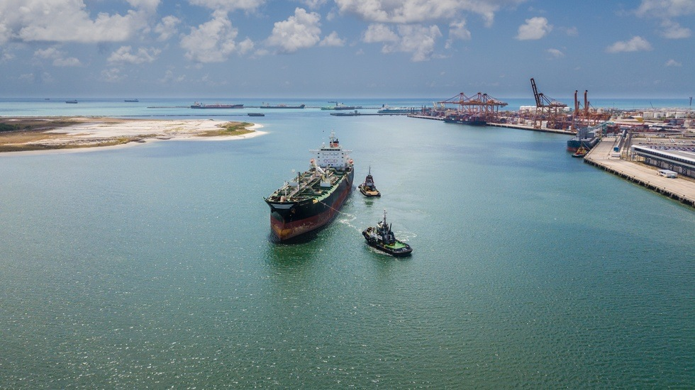 Odfjell's 2010-built chemical tanker arrives the EAS drydock for upgrades and maintenance