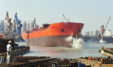 World's largest stainless steel chemical tanker enters