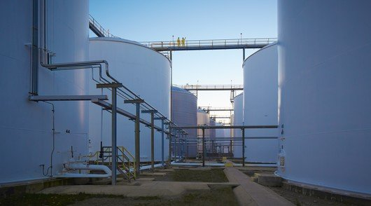 Tank terminals at Odfjell Terminals Houston
