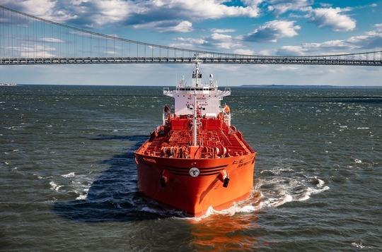 Chemical tanker Bow Prosper. Photo: Jonathan Atkin, Shipshooter   Odfjell
